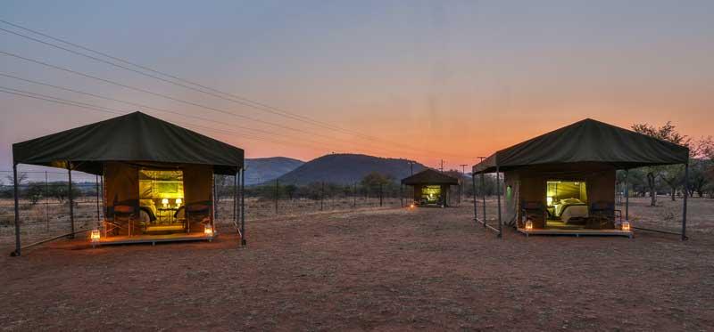 Rates & Pilanesberg Tented Safari Camp